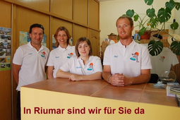 Team in Riumar - Sonkoi, Tanja, Raul
